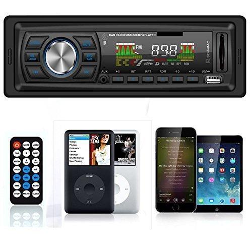 Masione® Autoradio Stereo In Dash Fm Ricevitore con lettore di MP3 & USB SD ingresso AUX ricevitore