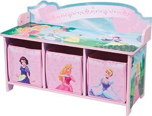 Amazon Com Delta Enterprise Disney Princess 3 Bin Storage