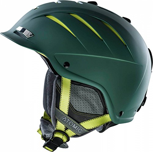 Casco da sci ATOMIC Nomad LF, Dark Green, taglia unica, AN5005220M