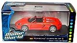Porsche Carrera GT 1:43 Scale (Red-Orange)