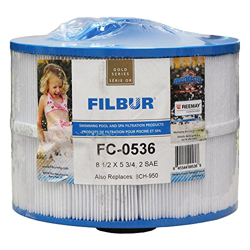 Filbur FC-0536 Antimicrobial Replacement Filter Cartridge for Bullfrog Pool and Spa Filter (Bullfrog Spa Filter compare prices)