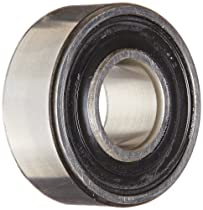 SKF 2203 E-2RS1TN9 Double Row Self-Aligning Bearing, ABEC 1 Precision, Double Sealed, Plastic Cage, Normal Clearance, Metric, 17mm Bore, 40mm OD, 16mm Width, 573.0 pounds Static Load Capacity, 2380.00 pounds Dynamic Load Capacity