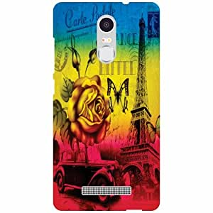 Xiaomi Redmi Note 3 Back Cover - (Printland)