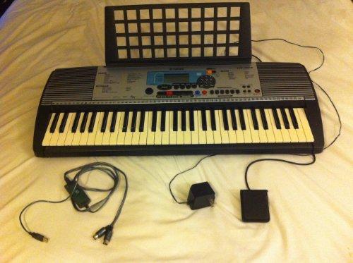YAMAHA PSR-225GM 61 Key Educational Keyboard with MIDI Music Sequencer and Grand Piano Sound YAMAHA PSR225GMB00009W3OZ : image