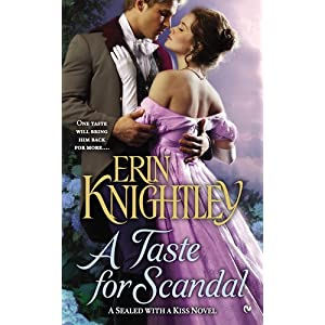 A Taste for Scandal by Erin Knightley