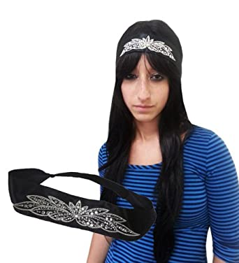 1 and 1/2 Inch Celebrity Studded Headband