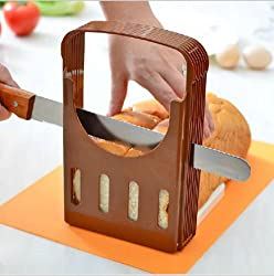 Toast Bread Slicer Bread Well-Distributed Device Toast Slice Baking Tools Bread Slicing Rack