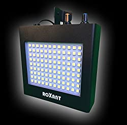 Roxant Pulse Strobe Light With 108 Super-Bright Mini LEDs With Auto Sound Activated Mode OR Adjustable Flash Speed Control from Roxant