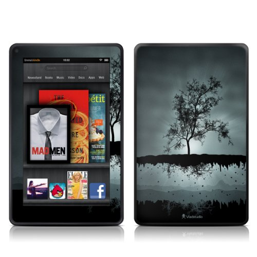 Decalgirl Kindle Fire Skin - Flying Tree Black