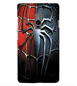ColourCraft Spider Design Back Case Cover for OnePlus Two