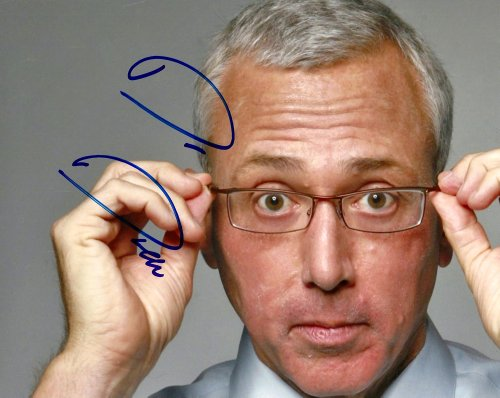 Dr. Drew Pinsky Autographed Signed Face Photo Uacc