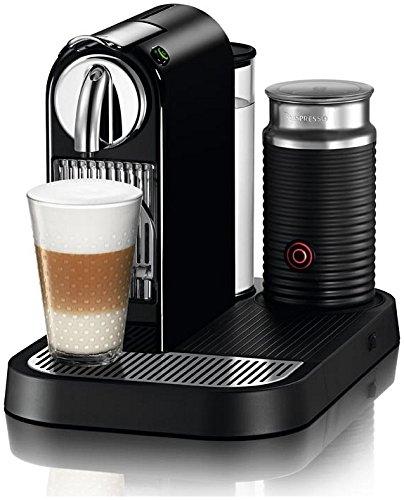 nespresso d121 us bk ne1 citiz espresso maker with aeroccino milk frother black. Black Bedroom Furniture Sets. Home Design Ideas