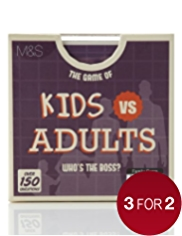 The Game of Kids Vs Adults