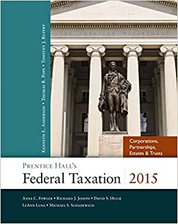 Prentice Hall's Federal Taxation 2015 Corporations, Partnerships, Estates & Trusts Plus NEW MyAccountingLab With Pearson EText -- Access Card Package (28th Edition)