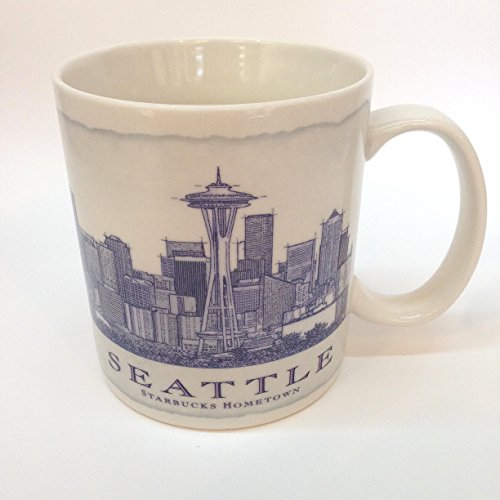 Starbucks Collectible Seattle Coffee Mug From Starbucks Hometown - 18 Oz.