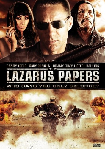 Cover art for  Lazarus Papers