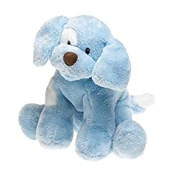 Spunky Small Blue BARKING Puppy By Gund