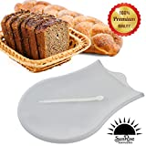 Large Size Sunrise Silicone Kneading Bag for Fondant, Dough, Meat Marinator, Gluten Free Dough, Naan, Pizza Pie Dough, Pastries, Blending Preserves and Jellies.