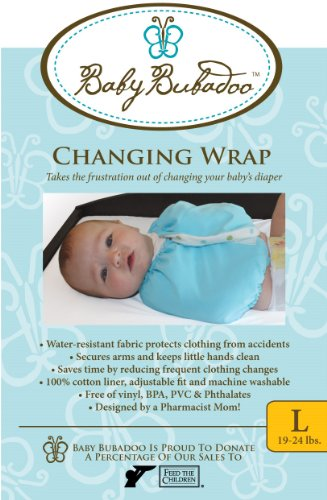Baby Bubadoo's Diaper changing Wrap ~ Pink Size Small 5-10 lbs