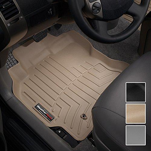 WeatherTech Custom Fit Front FloorLiner for Lexus LX570 Tan