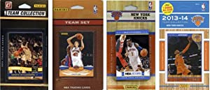 NBA New York Knicks 4 Different Licensed Trading Card Team Sets by C&I Collectables