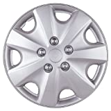 "Drive Accessories KT-957-15S/L, Honda Accord, 15"" Silver Lacquer Replica Wheel Cover, Pack of 4"