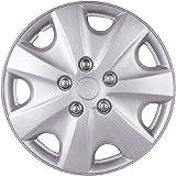 """Drive Accessories KT-957-15S/L, Honda Accord, 15"""" Silver Lacquer Replica Wheel Cover, (Set of 4)"""