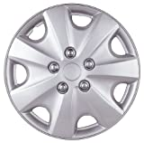 Drive Accessories KT957-15SL 15-Inch Plastic Wheel Cover, Silver Lacquer (Alloy Color)
