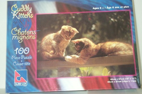 Cuddly Kittens, 100 Pc. Sure-lox Puzzle