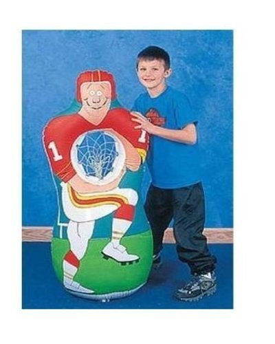 Inflatable Football Player Catch Sports Game 1 Set Toy