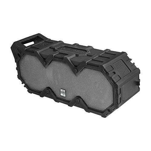 Altec Lansing IMW888-BLG Super Life Jacket Wireless Waterproof Speaker w/Microphone, Black/Steel Grey