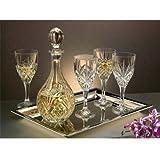 Godinger Dublin Crystal 7 Pc. Wine Set
