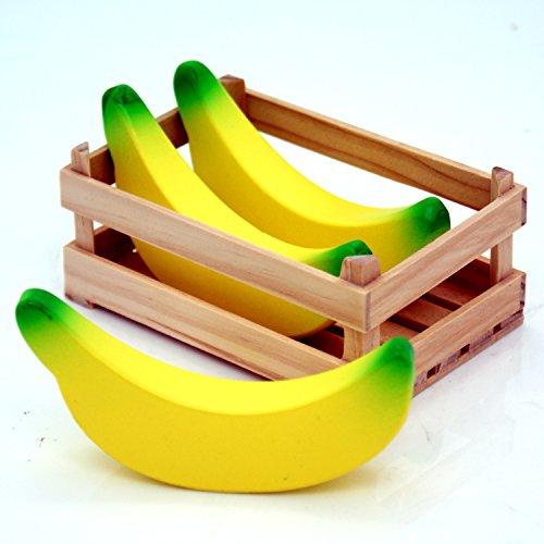 Wooden Banana's Set of 3