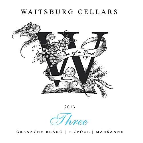 2013 Waitsburg Cellars 'Three' Rhone White Blend, Columbia Valley 750Ml
