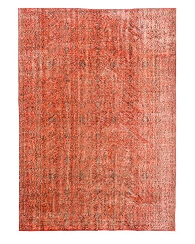 eCarpet Gallery One-of-a-Kind Hand-Knotted Color Transition Rug, Dark Copper, 6' 2 x 8' 9