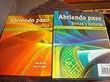img - for Abriendo Paso Temas y Lecturas and Gramatica 2 Book Set book / textbook / text book