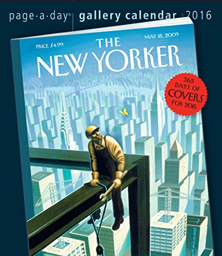 The New Yorker 365 Days of Covers Page-A-Day Gallery Calendar 2016 (New Yorker Covers compare prices)