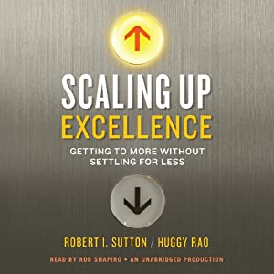 Scaling Up Excellence Hörbuch