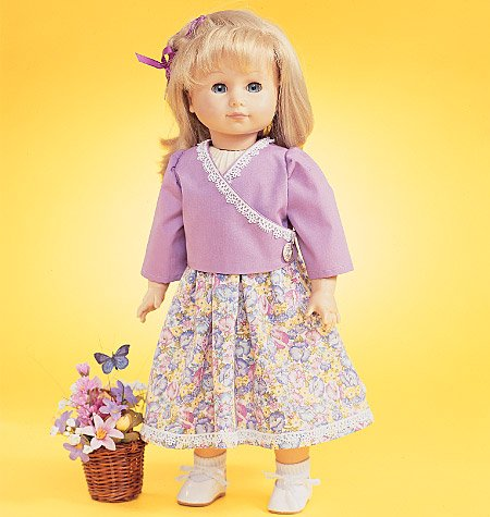 McCall's Patterns M4066 18-Inch Doll Clothes, One Size Only