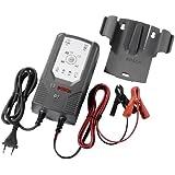 Bosch 0189999070 Microprozessor-Batterieladegerät C7, für 12 V und 24 V, mit Erhaltungsladung
