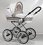 Wunderschöner Retro Kinderwagen Babywagen 3in1 giullietta