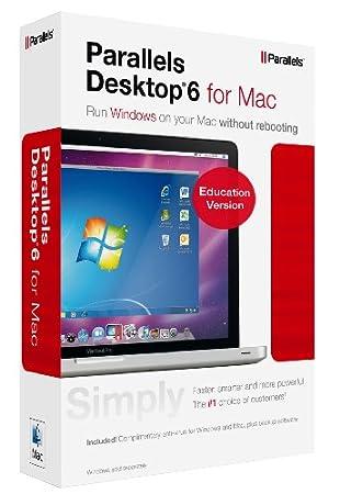 Parallels Desktop 6, Education version (Mac)