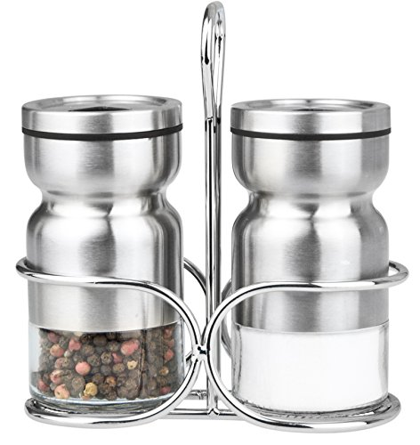 Cuisinox Salt and Pepper Shaker Set with Caddy