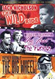 3 Classic Racing Films of the Silver Screen: The Wild Ride (1960) / The Fast and the Furious (1954) / The Big Wheel (1949) [DVD]
