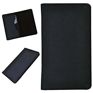 DCR Pu Leather case cover for Videocon Infinium Z50 Pro (black)