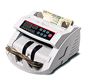 Surya Currency Counting Machine with fake note detection WITH Digital Display  WHITE  available at Amazon for Rs.4980