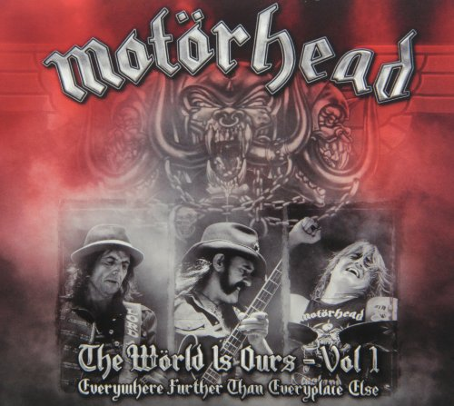 Motorhead - The world is ours - Everywhere further than everyplace else (+2CD) Volume 01