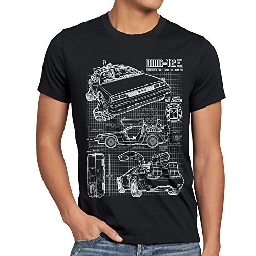 DMC-12 Blueprint T-Shirt