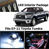 Toyota Tundra White Interior LED Package (10 Pieces)