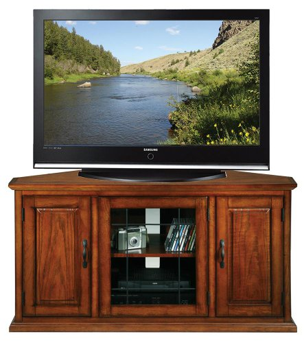 Leick Riley Holliday 50 in. Corner TV Console